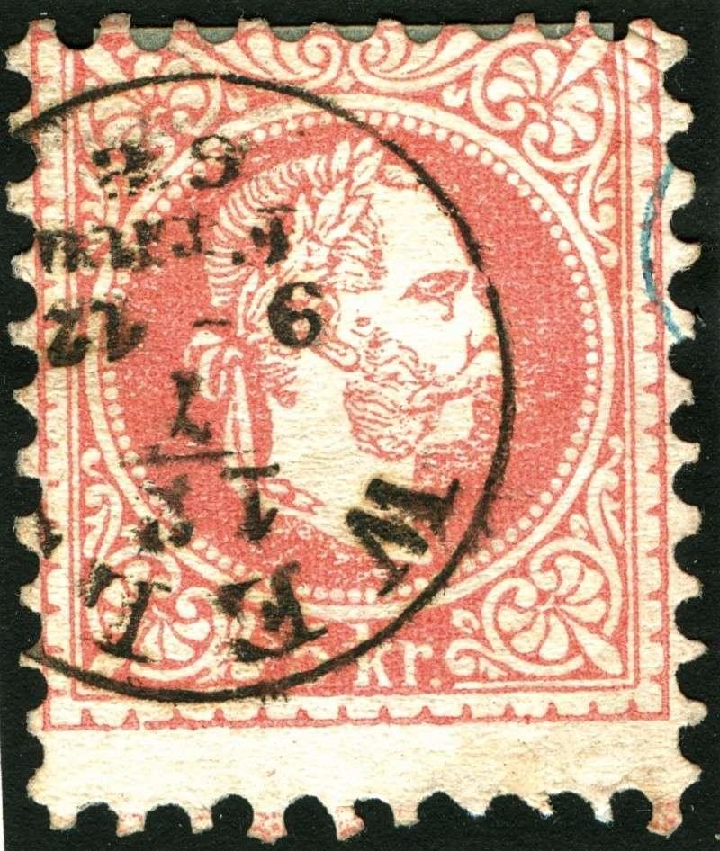 Freimarken-Ausgabe 1867 : Kopfbildnis Kaiser Franz Joseph I - Seite 5 Rand310