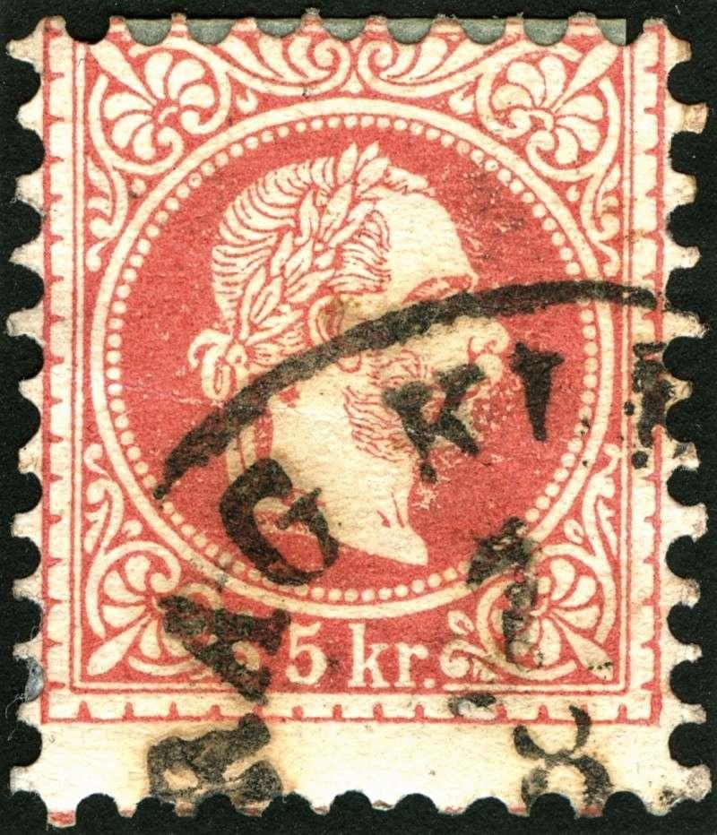 Freimarken-Ausgabe 1867 : Kopfbildnis Kaiser Franz Joseph I - Seite 5 Rand410