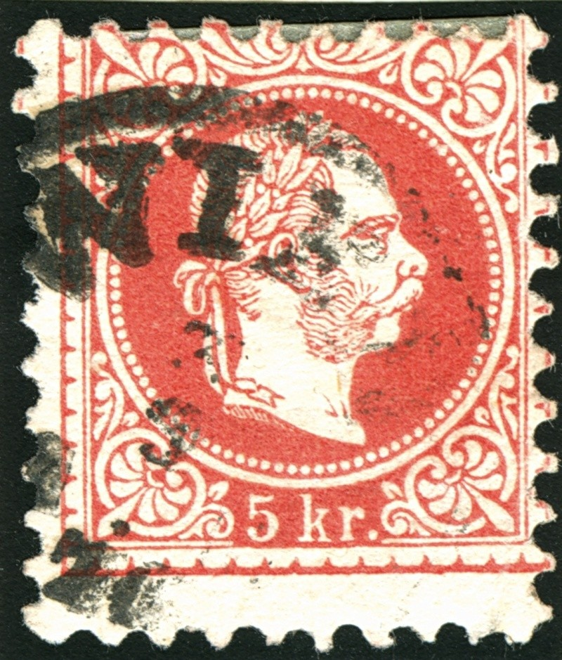 Freimarken-Ausgabe 1867 : Kopfbildnis Kaiser Franz Joseph I - Seite 5 Rand510