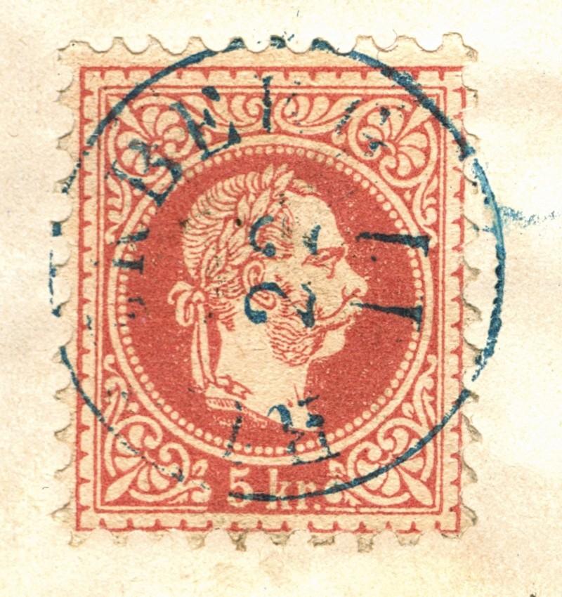 Freimarken-Ausgabe 1867 : Kopfbildnis Kaiser Franz Joseph I - Seite 3 Ruszkb10