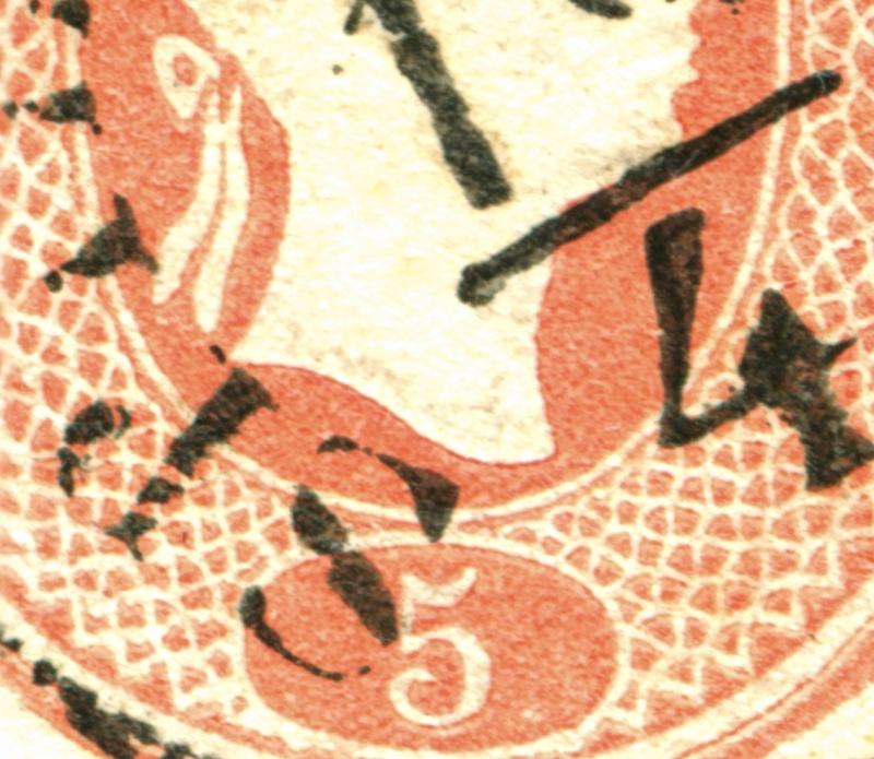 Lombardei-Venetien, Ausgabe 1861/62 Stadiu10