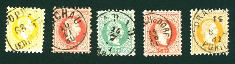 Freimarken-Ausgabe 1867 : Kopfbildnis Kaiser Franz Joseph I - Seite 3 Stempe10