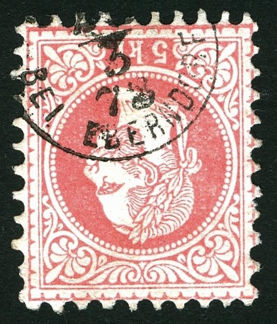 Freimarken-Ausgabe 1867 : Kopfbildnis Kaiser Franz Joseph I - Seite 3 Stempe12