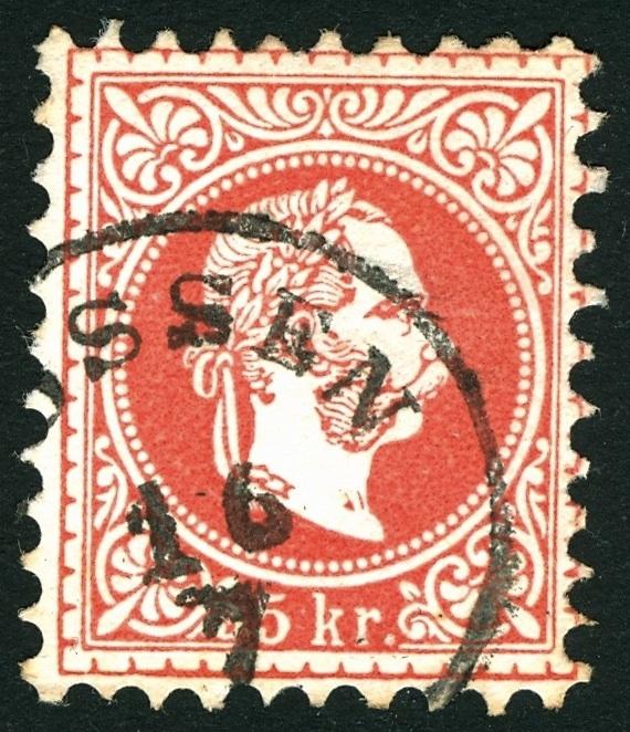 Freimarken-Ausgabe 1867 : Kopfbildnis Kaiser Franz Joseph I - Seite 3 Stempe13