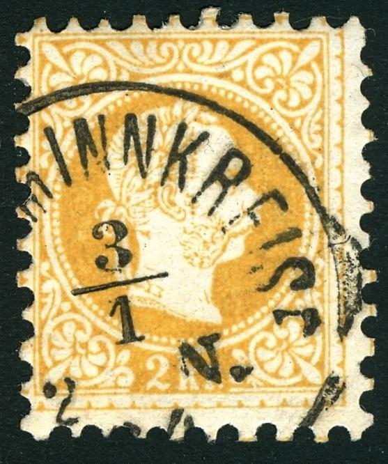 Freimarken-Ausgabe 1867 : Kopfbildnis Kaiser Franz Joseph I - Seite 3 Stempe14