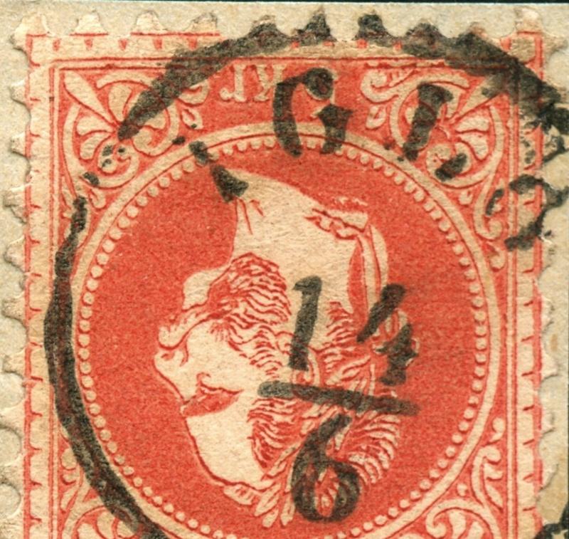 Freimarken-Ausgabe 1867 : Kopfbildnis Kaiser Franz Joseph I - Seite 5 Stempe17