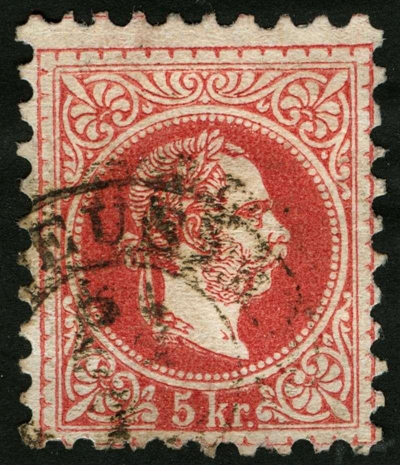 Freimarken-Ausgabe 1867 : Kopfbildnis Kaiser Franz Joseph I - Seite 5 Ti_geg10