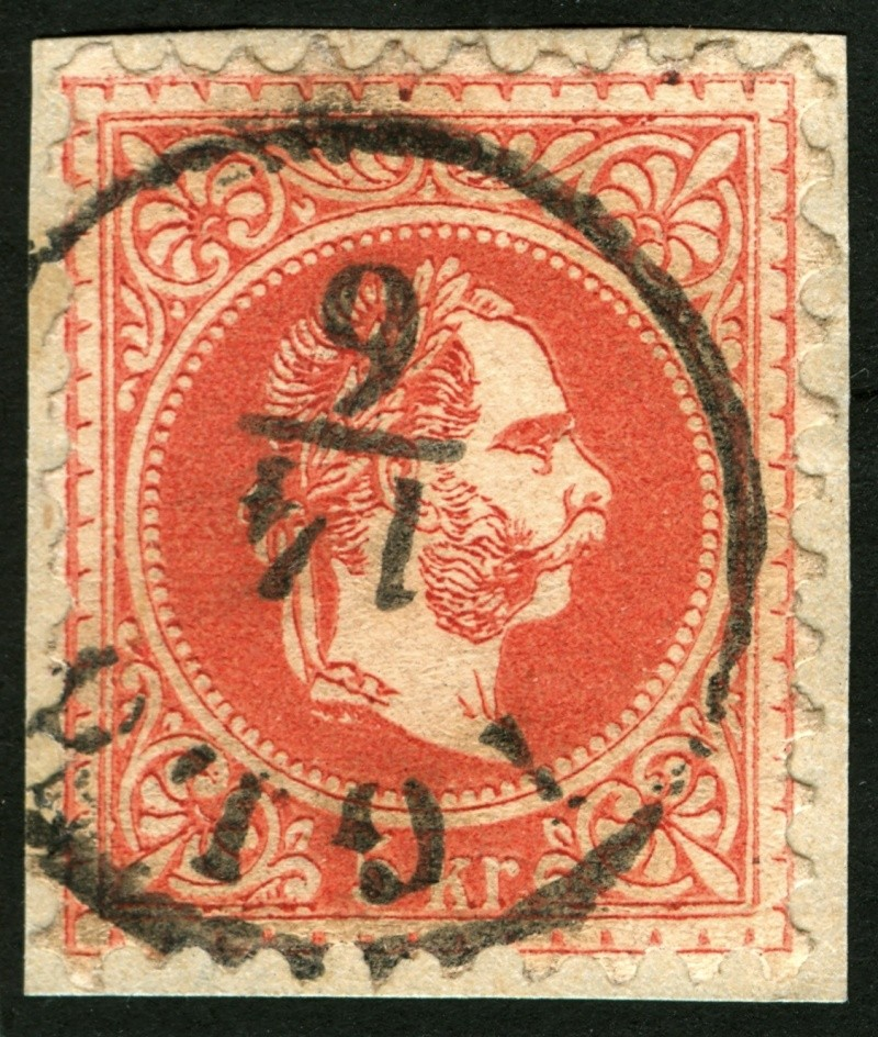 Freimarken-Ausgabe 1867 : Kopfbildnis Kaiser Franz Joseph I - Seite 5 Ti_hoh10
