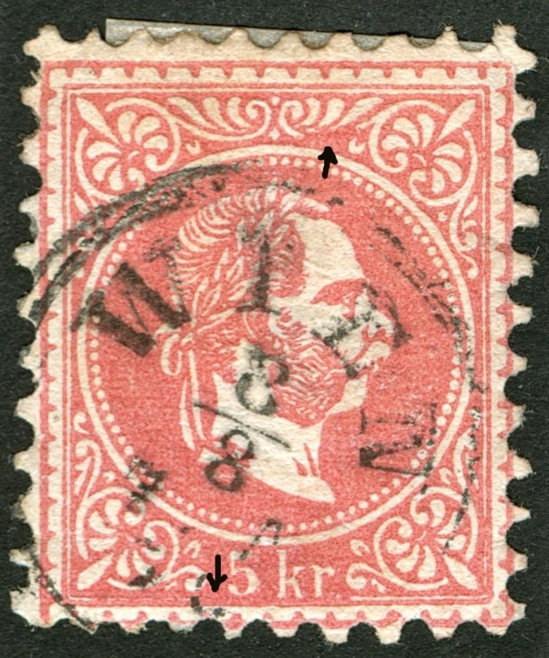 Freimarken-Ausgabe 1867 : Kopfbildnis Kaiser Franz Joseph I - Seite 4 Ti_pf110