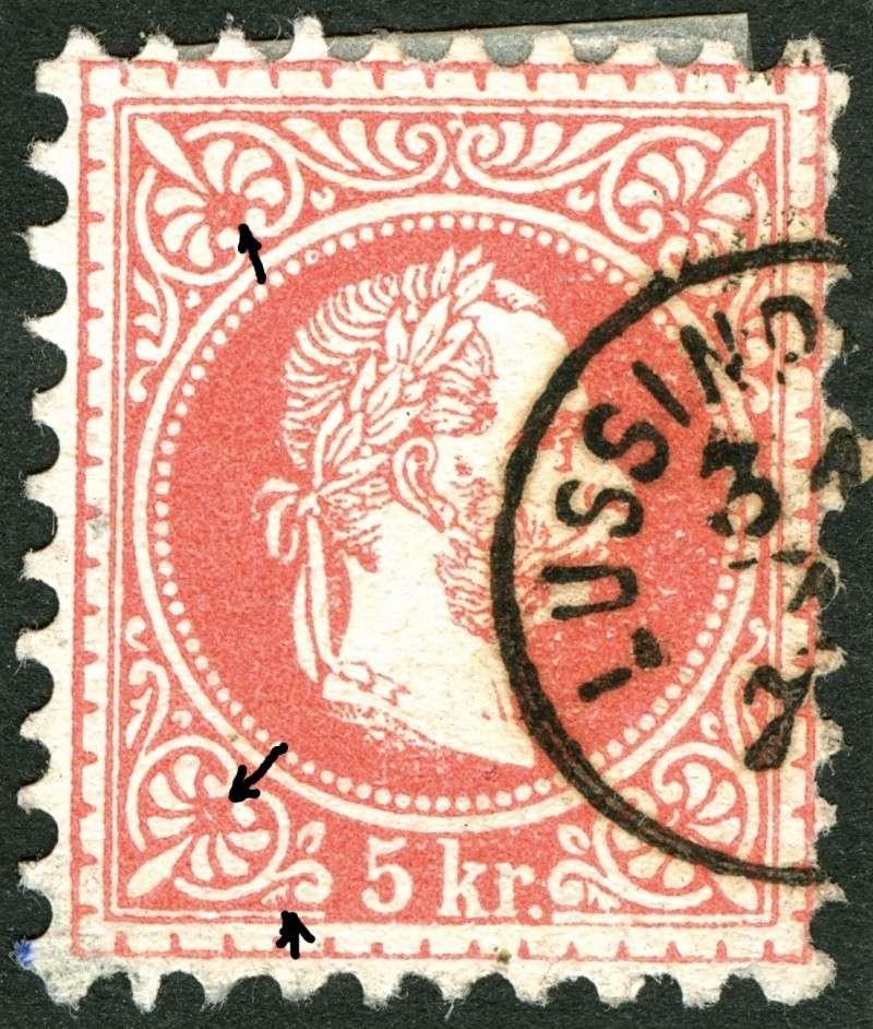 Freimarken-Ausgabe 1867 : Kopfbildnis Kaiser Franz Joseph I - Seite 4 Ti_pf115