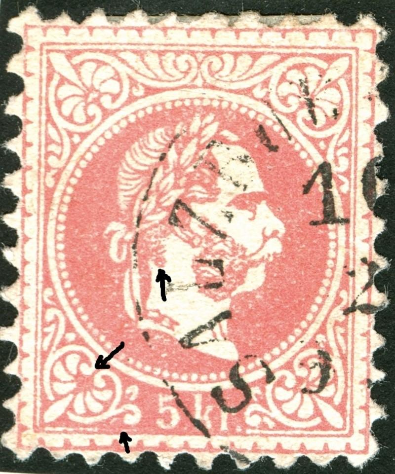 Freimarken-Ausgabe 1867 : Kopfbildnis Kaiser Franz Joseph I - Seite 4 Ti_pf117