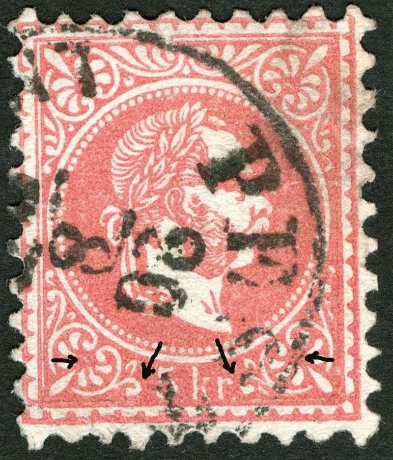 Freimarken-Ausgabe 1867 : Kopfbildnis Kaiser Franz Joseph I - Seite 4 Ti_pf210