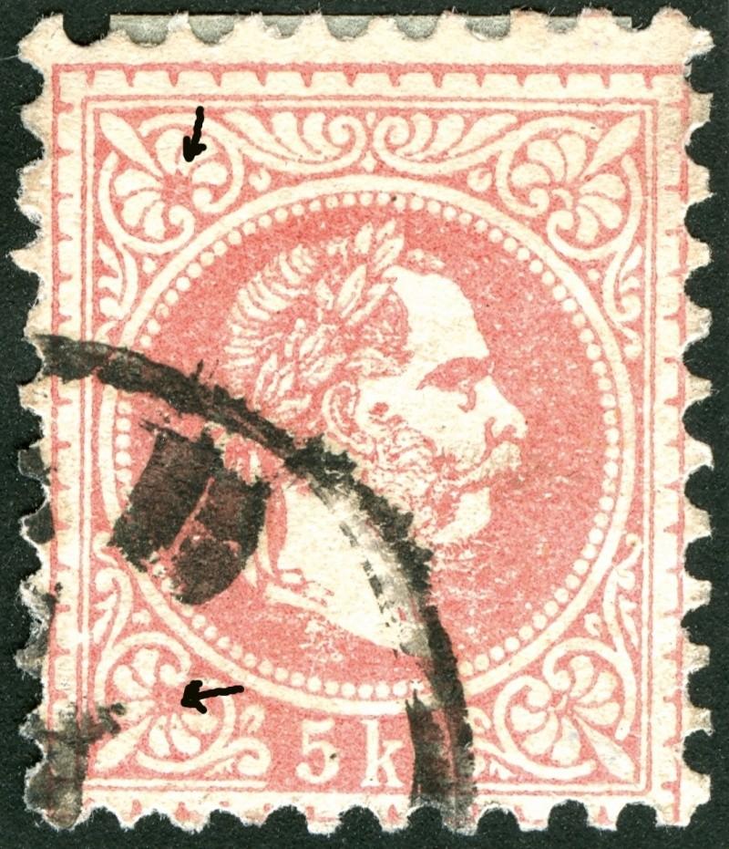 Freimarken-Ausgabe 1867 : Kopfbildnis Kaiser Franz Joseph I - Seite 4 Ti_pf410