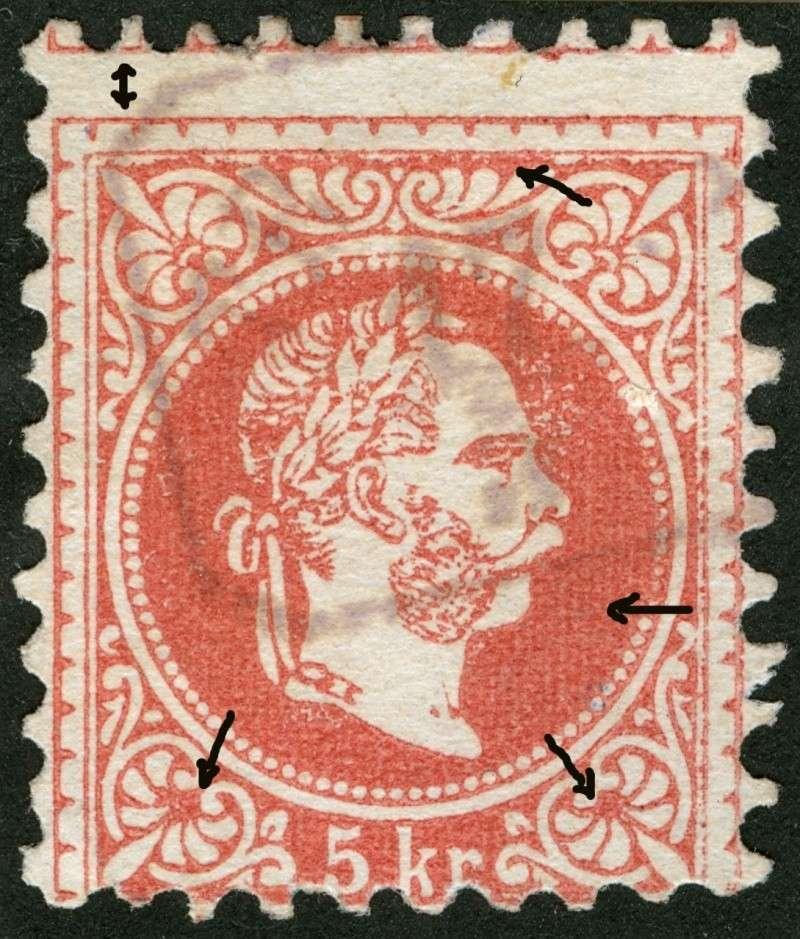 Freimarken-Ausgabe 1867 : Kopfbildnis Kaiser Franz Joseph I - Seite 4 Ti_pf510