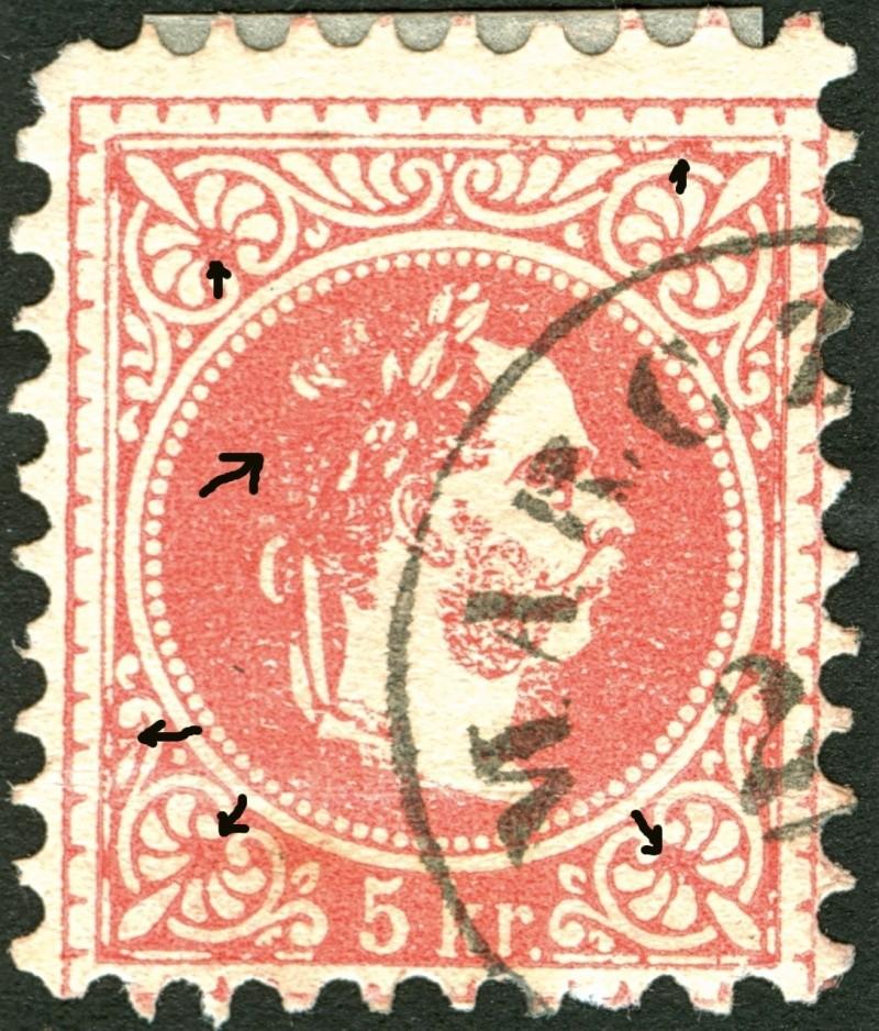 Freimarken-Ausgabe 1867 : Kopfbildnis Kaiser Franz Joseph I - Seite 4 Ti_pf610