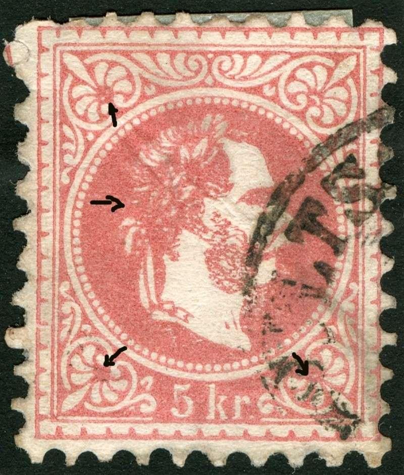 Freimarken-Ausgabe 1867 : Kopfbildnis Kaiser Franz Joseph I - Seite 4 Ti_pf710