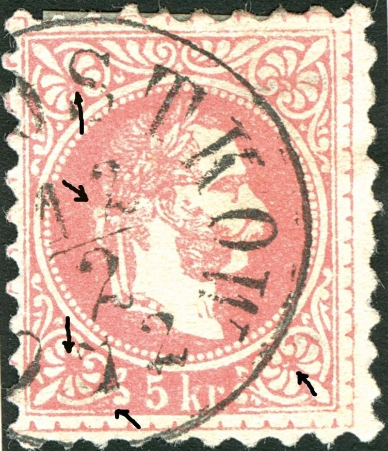 Freimarken-Ausgabe 1867 : Kopfbildnis Kaiser Franz Joseph I - Seite 4 Ti_pf810