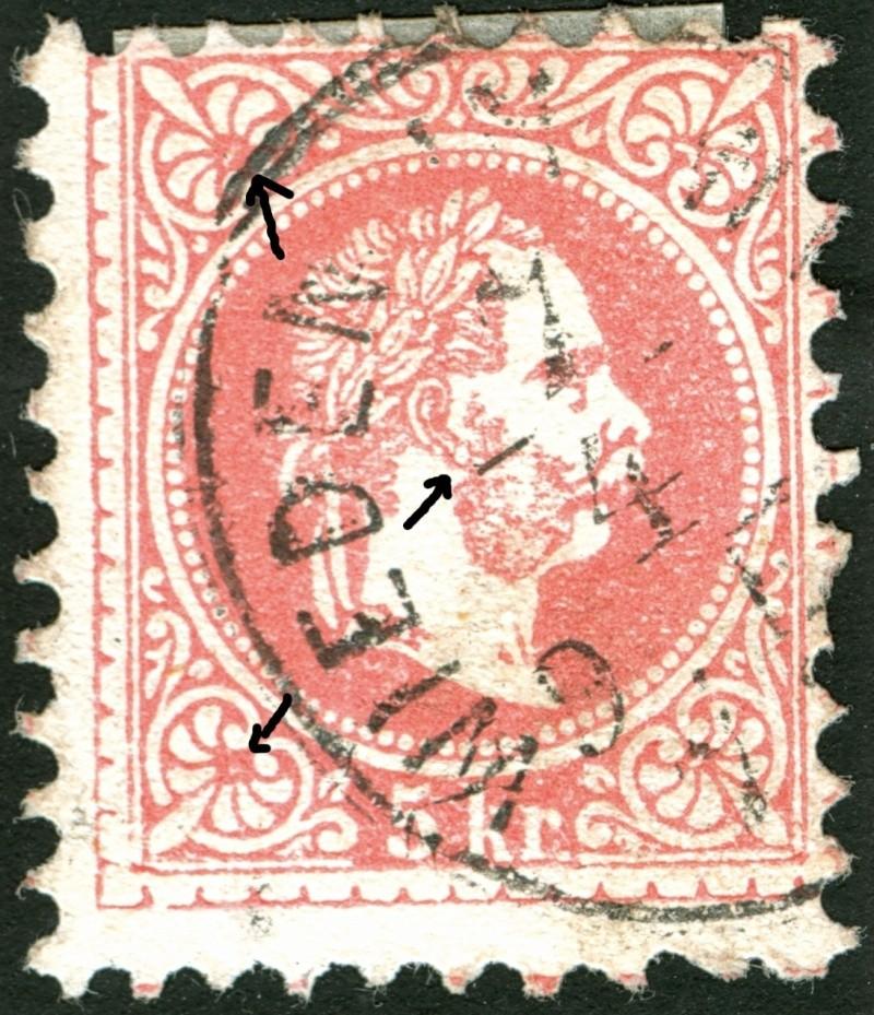 Freimarken-Ausgabe 1867 : Kopfbildnis Kaiser Franz Joseph I - Seite 4 Ti_pf910