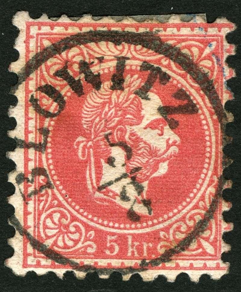 Freimarken-Ausgabe 1867 : Kopfbildnis Kaiser Franz Joseph I - Seite 5 Ti_waa10