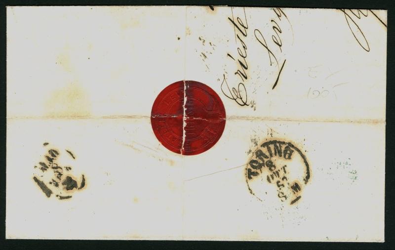 Freimarken-Ausgabe 1867 : Kopfbildnis Kaiser Franz Joseph I - Seite 3 Triest17