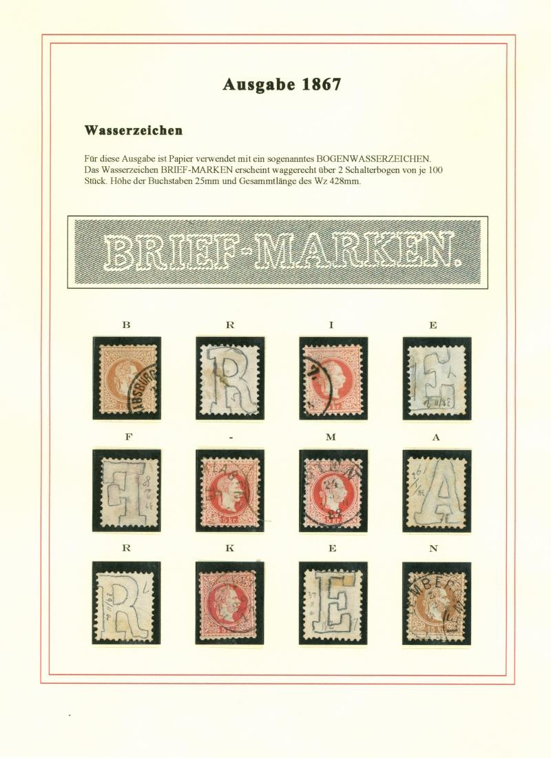Freimarken-Ausgabe 1867 : Kopfbildnis Kaiser Franz Joseph I - Seite 5 Wz110