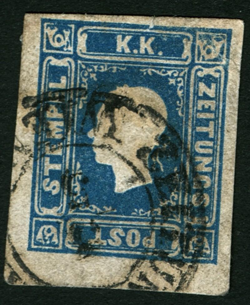 DIE ZEITUNGSMARKEN AUSGABE 1858 Zeitun10