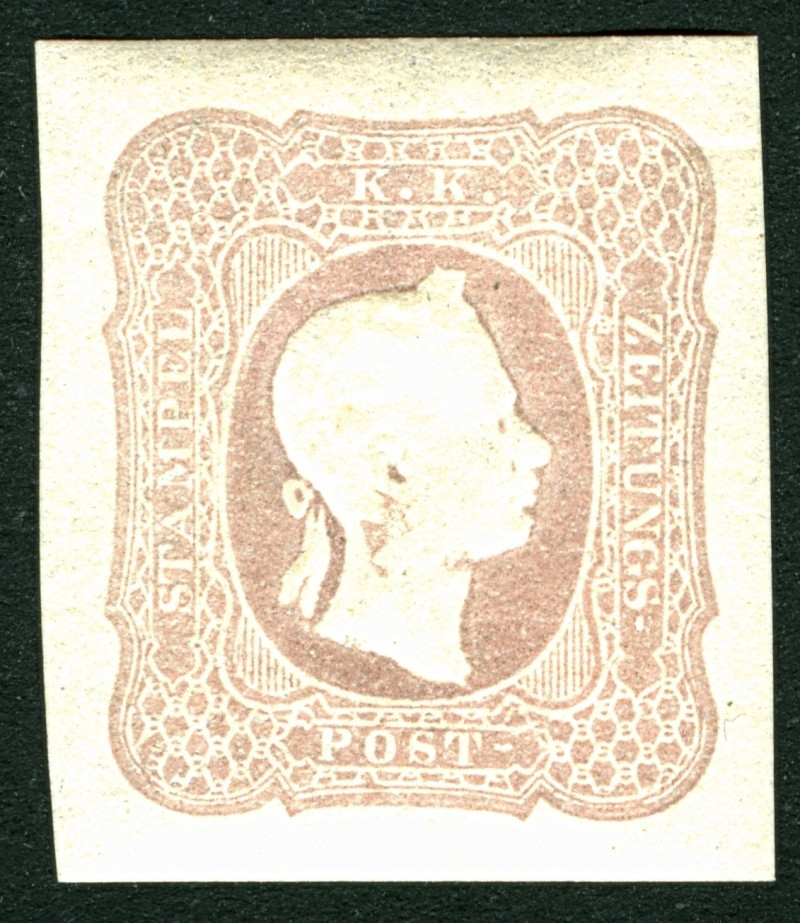 DIE ZEITUNGSMARKEN AUSGABE DES JAHRES 1861 Zeitun14