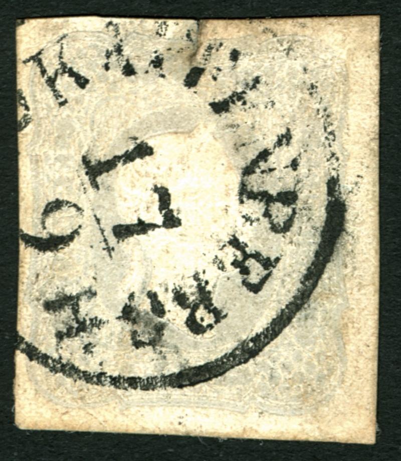 DIE ZEITUNGSMARKEN AUSGABE DES JAHRES 1861 Zeitun15