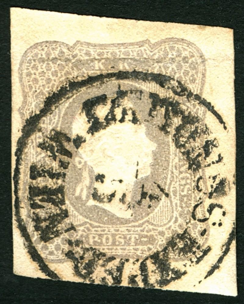 DIE ZEITUNGSMARKEN AUSGABE DES JAHRES 1861 Zeitun16