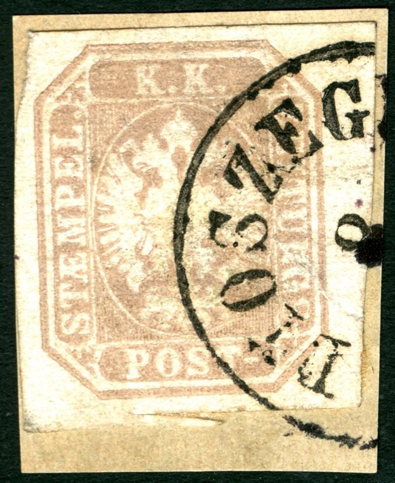DIE ZEITUNGSMARKEN AUSGABE 1863 Zeitun18