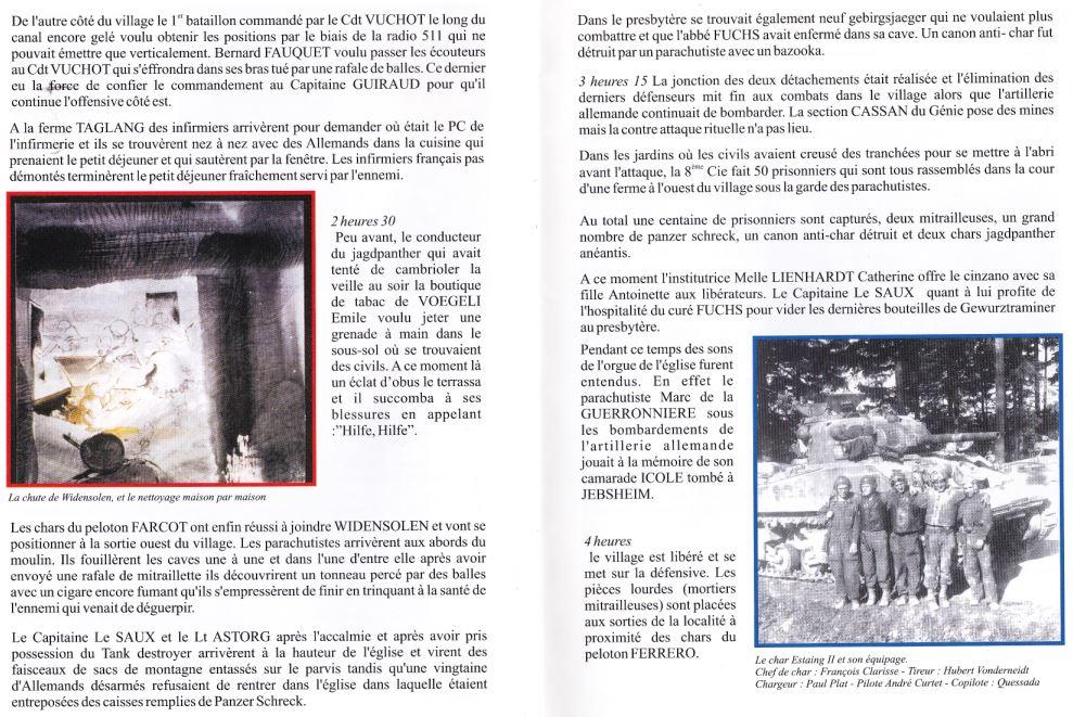 1er RCP 1945 Bataille d'Alsace Rez11