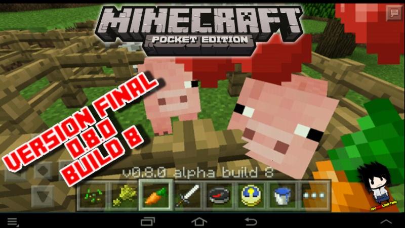 Minecraft Pocket Edition 0.8.0 Alpha 8 Final [MH] Skyyyp10