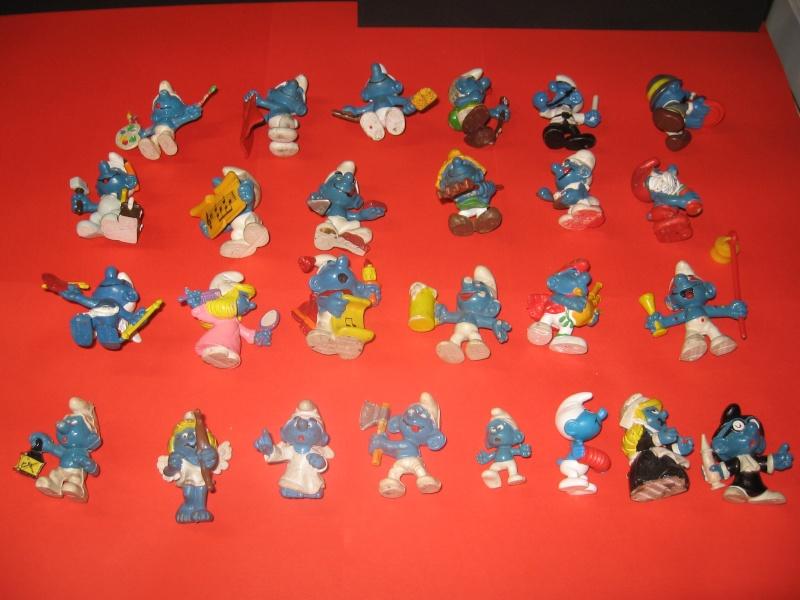 Puffi e altri personaggi in PVC Img_2942