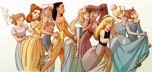 Les Disney Princesses (+ Elsa et Anna) [Topic Unique] - Page 5 Tumblr11