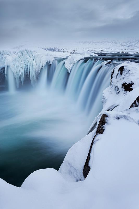 Magnifique Islande la chute des dieux Godafoss Godafo10