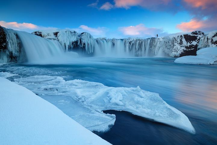 Magnifique Islande la chute des dieux Godafoss Godafo11