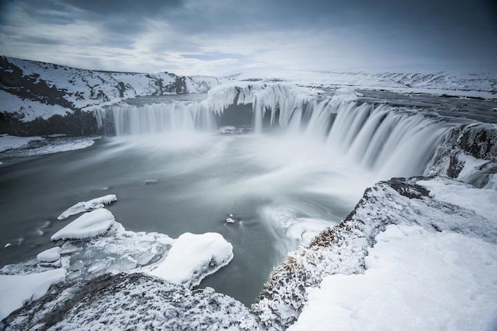 Magnifique Islande la chute des dieux Godafoss Godafo13