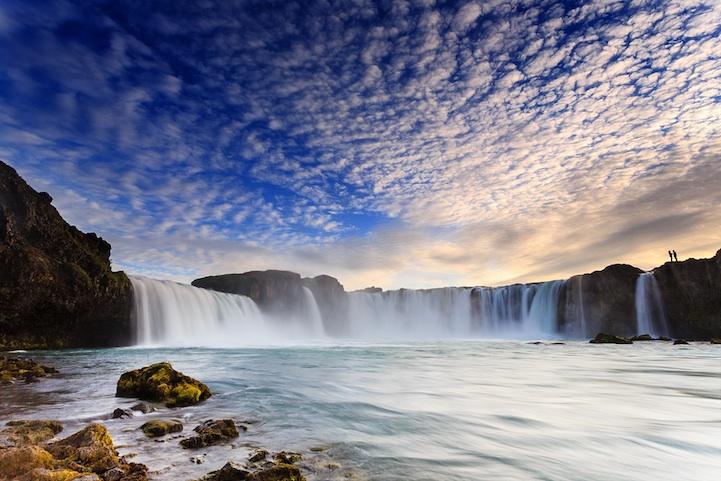Magnifique Islande la chute des dieux Godafoss Godafo14