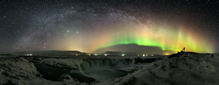 Magnifique Islande la chute des dieux Godafoss Godafo15