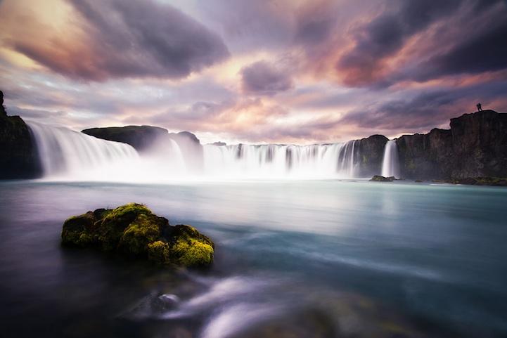 Magnifique Islande la chute des dieux Godafoss Godafo16