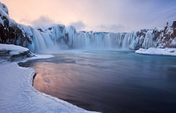 Magnifique Islande la chute des dieux Godafoss Godafo17