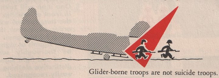 Glider-borne troops are not suicide troops ^-^  11761010