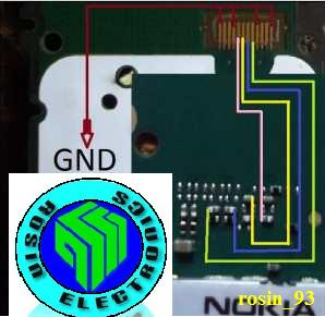 Nokia 105 LCD Way And Display Light Way Nokia-11