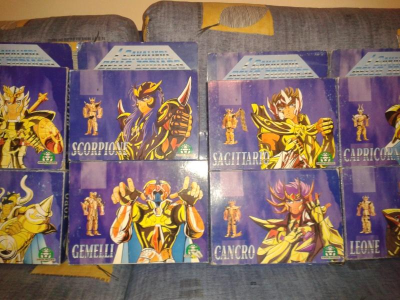 Cavalieri dello Zodiaco 12 Oro Scatola a Tempio Giochi Preziosi 1986 2014-013