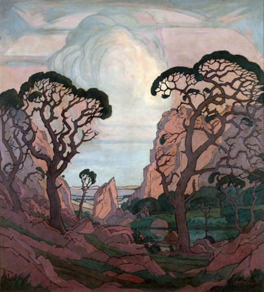The Baobab by Pierneef Pierne11