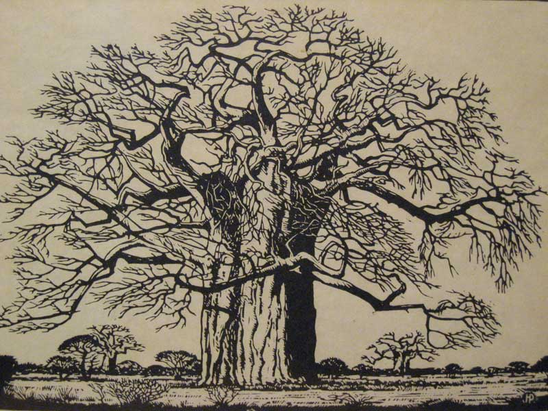 The Baobab by Pierneef Zoom_710