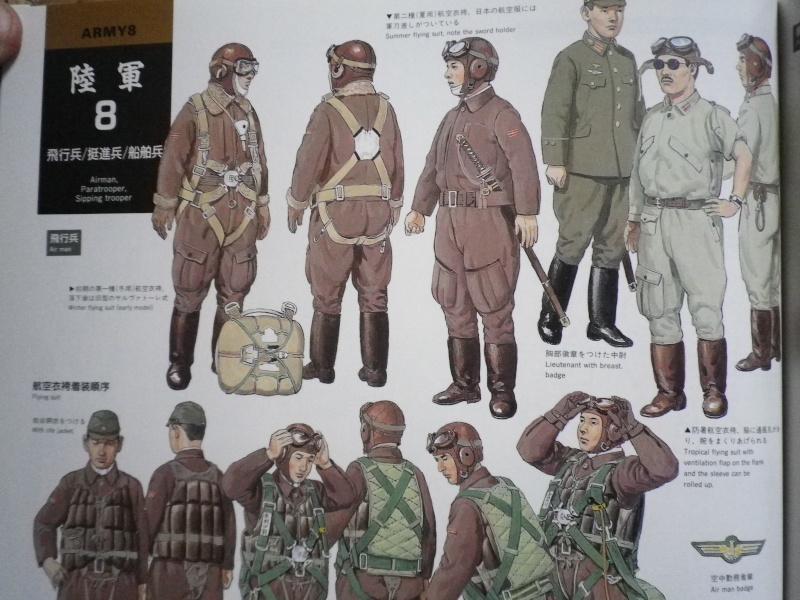 Bonnet de vol, lunettes et hachimaki. Imgp4512