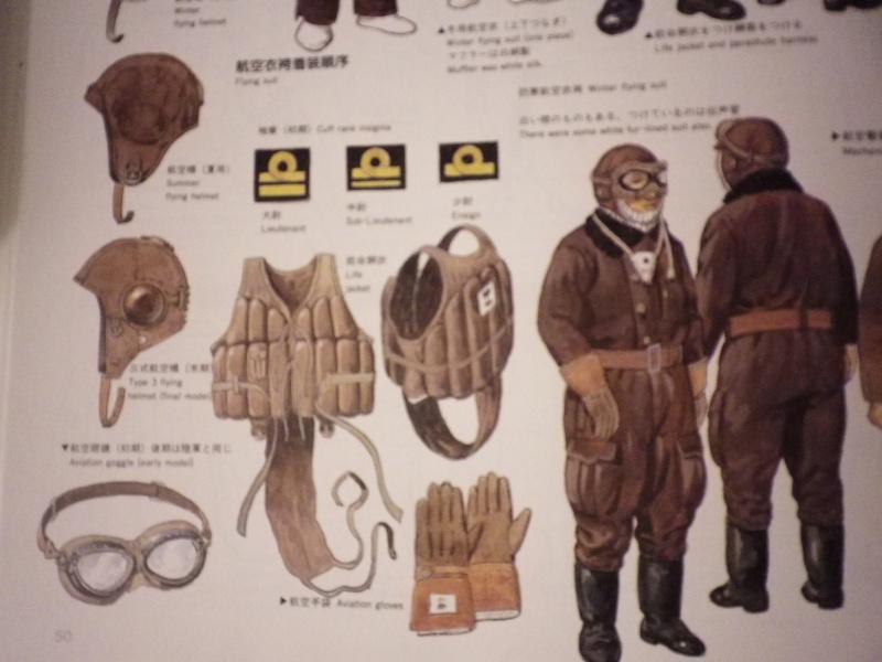 Bonnet de vol, lunettes et hachimaki. Imgp4514