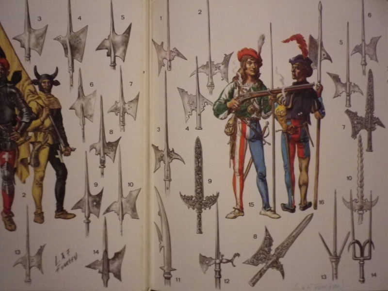 Les armes d'hast des sergents d'infanterie. 1660-1758 Imgp4810