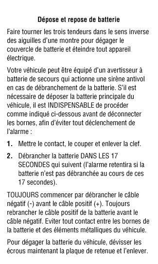 alarme surchauffe boîte automatique diesel - Page 3 Batter11